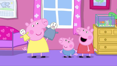 Peppa Pig - Chloes Puppentheater