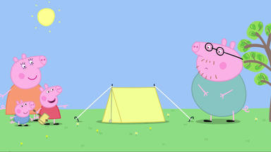 Peppa Pig - Zelten