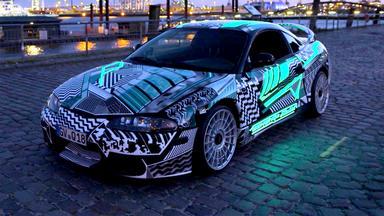 Auto Mobil - Thema U.a.: Autolack Leuchtet Im Dunkeln