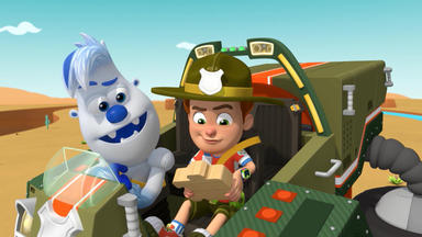 Ranger Rob - Die Wüstensteine Vom Tier-spaß-park \/ Der Tier-spaß-park Schneeland-wettbewerb