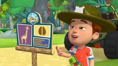 Ranger Rob - Ein Neuer Pfad Im Tier-spaß-park \/ Die Springeidechsen Im Tier-spaß-park