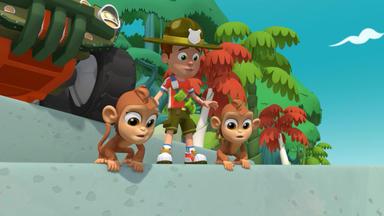 Ranger Rob - Affenzirkus Im Tier-spaß-park \/ Die Eis-figur Im Tier-spaß-park