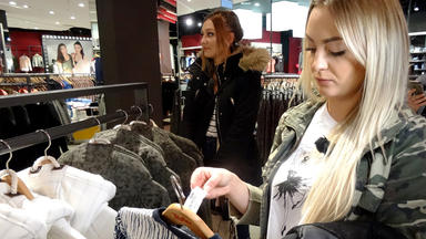 Shopping Queen - Gruppe Leipzig: Tag 4 \/ Irina