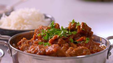 Die Besten Rezepte Der Indischen Küche - Würziges Lamm Bhuna