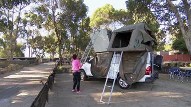 Einmal Camping, Immer Camping - Heute U.a. Mit: Nicki Und Carola \/ Südafrika