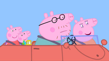 Peppa Pig - Herr Bulle Reißt Die Straße Auf