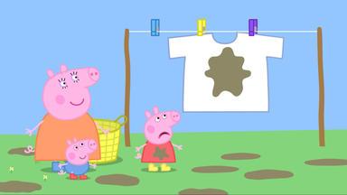 Peppa Pig - Wäsche Waschen
