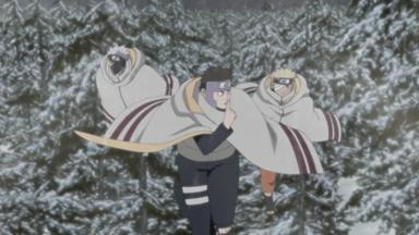 Naruto Shippuden - Aufbruch Zum Treffen Der Fünf Kage