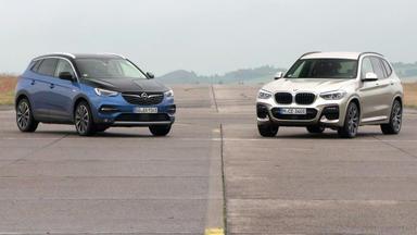 Auto Mobil - Thema U.a.: Vt Opel Grandland X Vs. Bmw X3 Mit Alex Und Albert