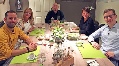 Das Perfekte Dinner - Gruppe Deutschland: Tag 1 \/ Christian