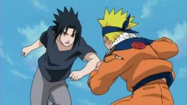 Naruto - Zwei Ninjas Drehen Auf