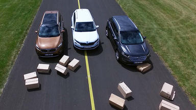 Auto Mobil - Thema U.a.: Vergleichstest Kia Sorento Vs. Ford Edge Vs. Skoda Kodiaq