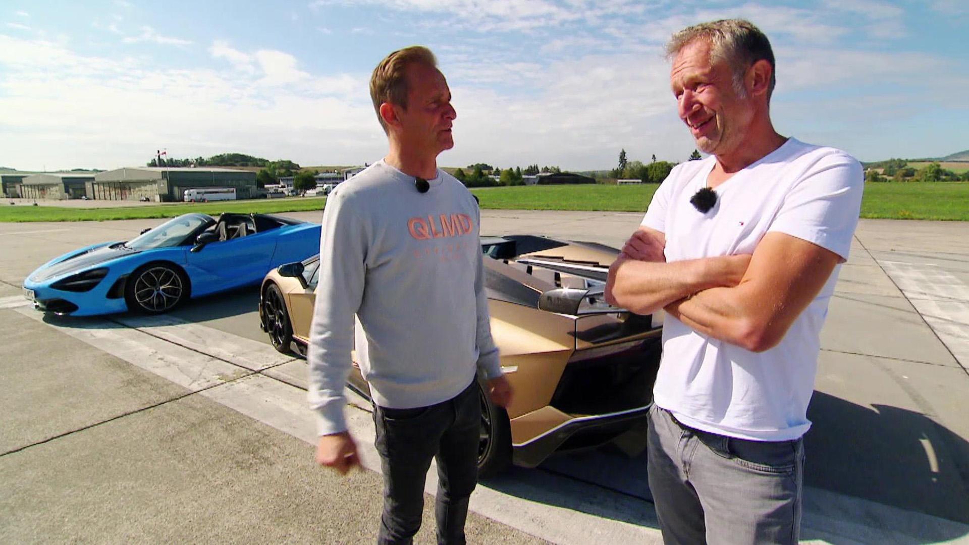 Hypersport-Cabrios - Lamborghini Aventador SVJ vs. McLaren 720S  | Folge 527