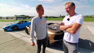 Grip - Das Motormagazin - Hypersport-cabrios - Lamborghini Aventador Svj Vs. Mclaren 720s