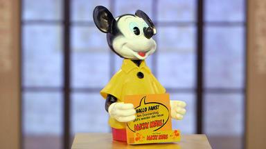 Die Superhändler - 4 Räume, 1 Deal - Blechschild \/ Kaminuhr \/ Kinderbett \/ Mickey Mouse Aufsteller