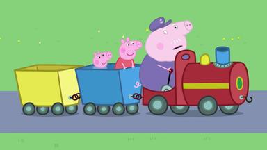 Peppa Pig - Gertrud, Der Rettungs-zug