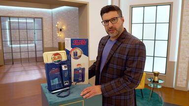 Die Superhändler - 4 Räume, 1 Deal - Rosenthal Hundefigur Aus Porzellan \/ Pepsi Telefon \/ 60er Jahre Weltzeituhr Von Imhoff Swiss \/ Hausb