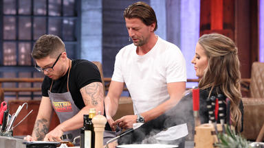 Grill Den Henssler - Gäste: Joey Heindle, Roman Weidenfeller, Charlotte Würdig