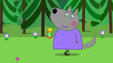 Peppa Pig - Wendy Wolf Hat Geburtstag
