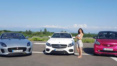 Grip - Das Motormagazin - Cyndie Allemann Checkt Drei Brandneue Cabrios