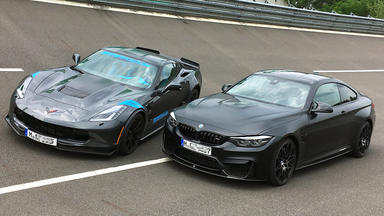 Grip - Das Motormagazin - Bmw M4 Competition Gegen Corvette C7 Grand Sport