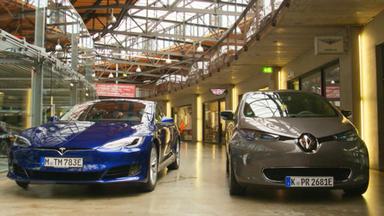 Auto Mobil - Thema U.a.: Tesla Vs. Renault Zoe