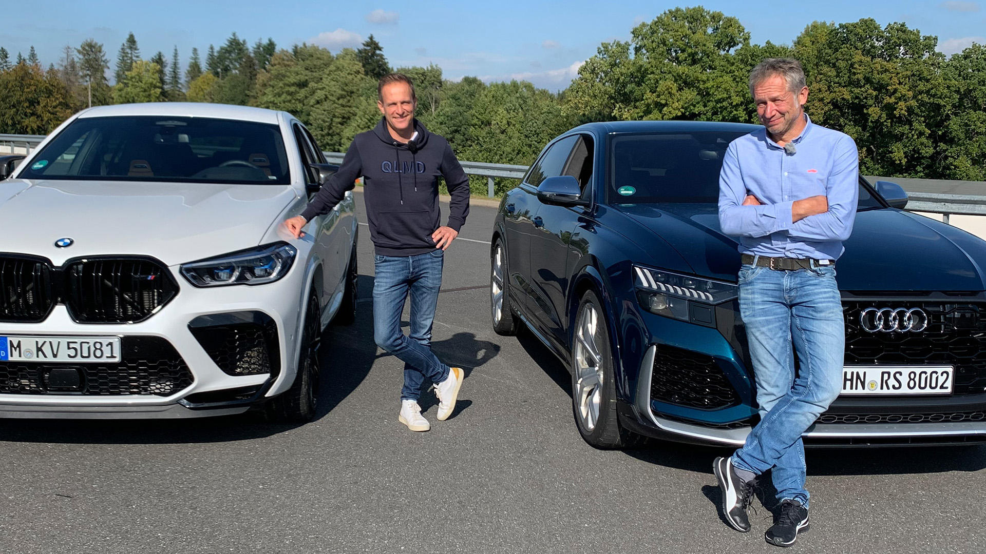 Dicke Dinger: Audi RS Q8 vs. BMW X6 M Competition  | Folge 530