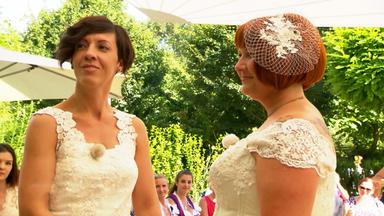 4 Hochzeiten Und Eine Traumreise - Tag 1: Brigitte Und Sigrun, Tulln (a)
