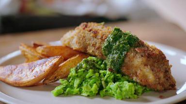 Jamie Oliver: 7 Mal Anders - Familienrezepte Für Die Ganze Woche - Blitzschnelle Fish & Chips