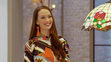 Die Superhändler - 4 Räume, 1 Deal - Tiffany Lampe (mit Promi Christina Grass)