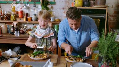 Jamie Oliver: 7 Mal Anders - Familienrezepte Für Die Ganze Woche - Portobello-pilze Und Bier