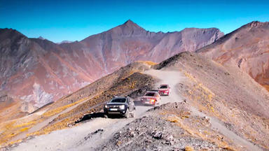 Auto Mobil - Thema U.a.: Reportage: Alpenüberquerung
