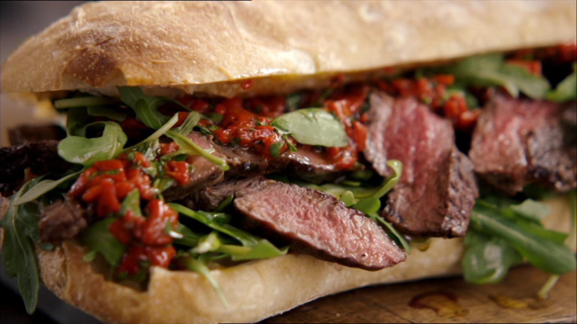 Steak-Sandwich   Folge 9