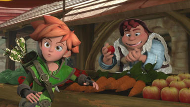 Robin Hood - Schlitzohr Von Sherwood - Isabelle Wird Entführt