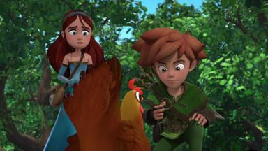 Robin Hood - Schlitzohr Von Sherwood - Der König Und Das Huhn