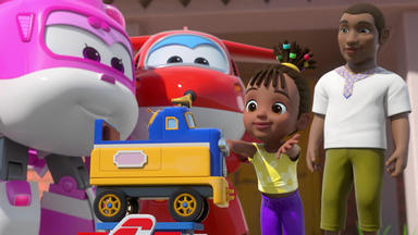 Super Wings - Der Schimpansen-express