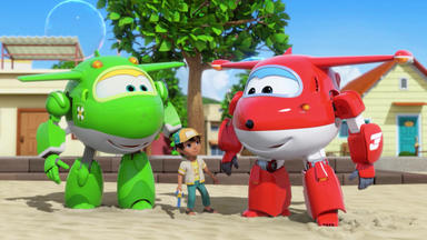 Super Wings - Unplatzbare Seifenblasen