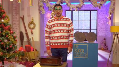 Die Superhändler - 4 Räume, 1 Deal - Weihnachts-folge: Spieldose Weihnachtsbaumständer \/ Schlitten \/ Spieluhr \/ Nussknacker