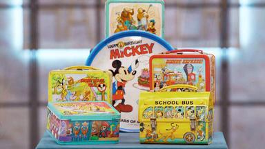 Die Superhändler - 4 Räume, 1 Deal - Disney Lunchboxen \/ Plüschhocker