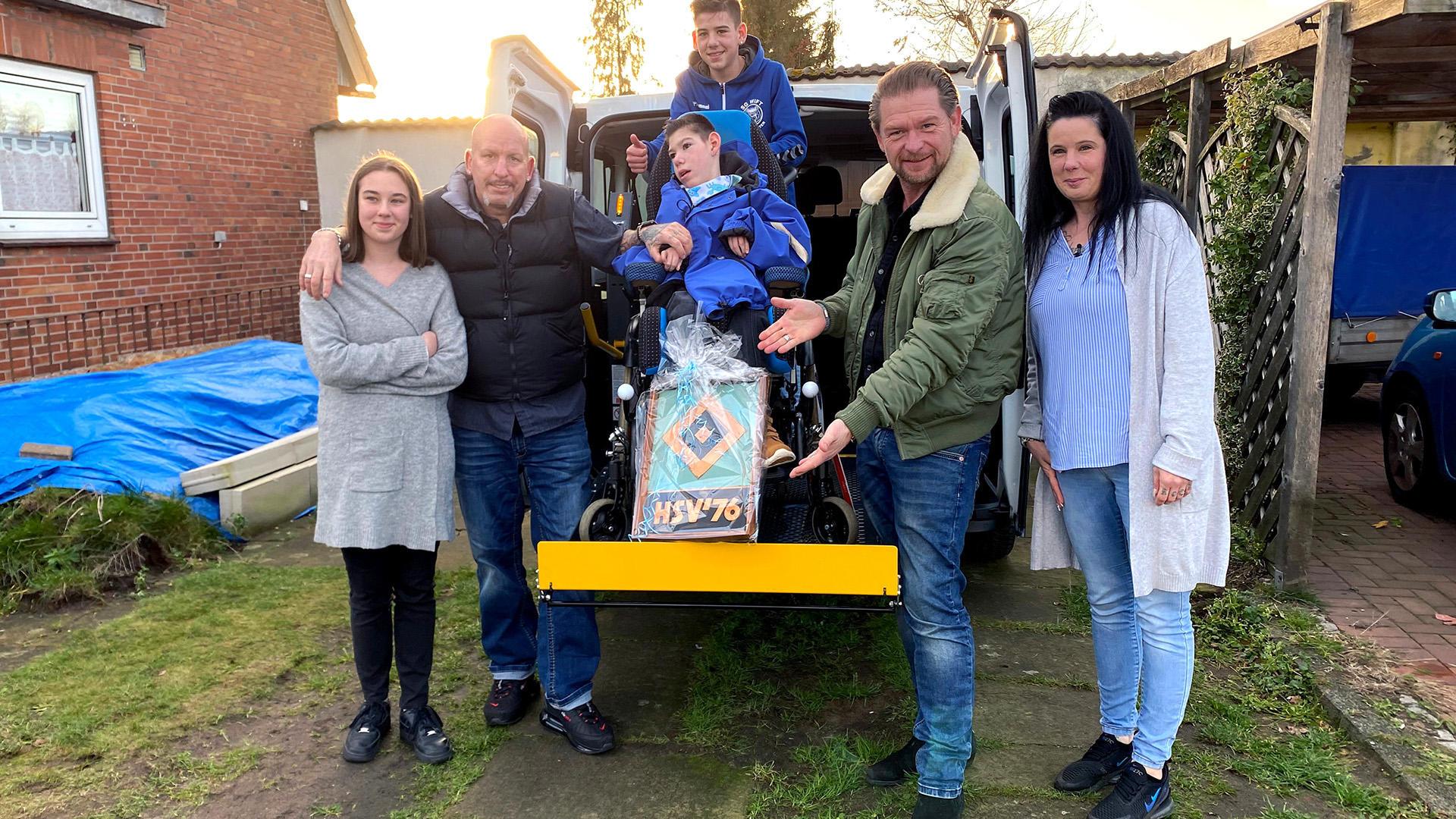 Behindertengerechtes Fahrzeug für Patchwork-Familie   Folge 15