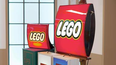 Die Superhändler - 4 Räume, 1 Deal - Lego Reklame Leuchten \/ Helios Warenautomat \/ Tischlampe