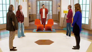 Die Superhändler - 4 Räume, 1 Deal - 2 Vitra Panton Stühle \/ Peill & Putzler Lampe