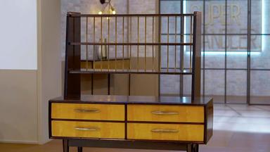 Die Superhändler - 4 Räume, 1 Deal - Sideboard Mit Bücherregal-aufsatz \/ Kaugummiautomat