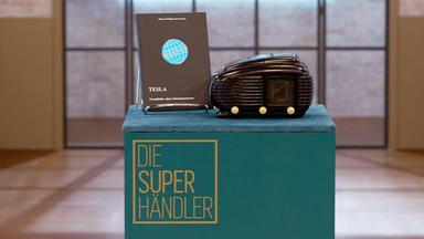 Die Superhändler - 4 Räume, 1 Deal - Tesla Talisman Radio & Buch über Die Firma Tesla \/ 3 Salzkottener Sicherheitsgefäße