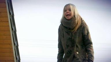 Der Blaulichtreport - Panische Frau Steht Auf Garagendach