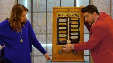 Die Superhändler - 4 Räume, 1 Deal - Kiss-o-meter \/ Lithografie \