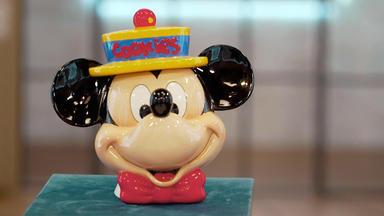 Die Superhändler - 4 Räume, 1 Deal - Mickey Mouse Keksdose Ca. 90er Jahre