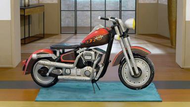 Die Superhändler - 4 Räume, 1 Deal - Harley Davidson Aus Holz \/ Gulvvasen Von Otto Breuer Für Kastrup Holmegaard