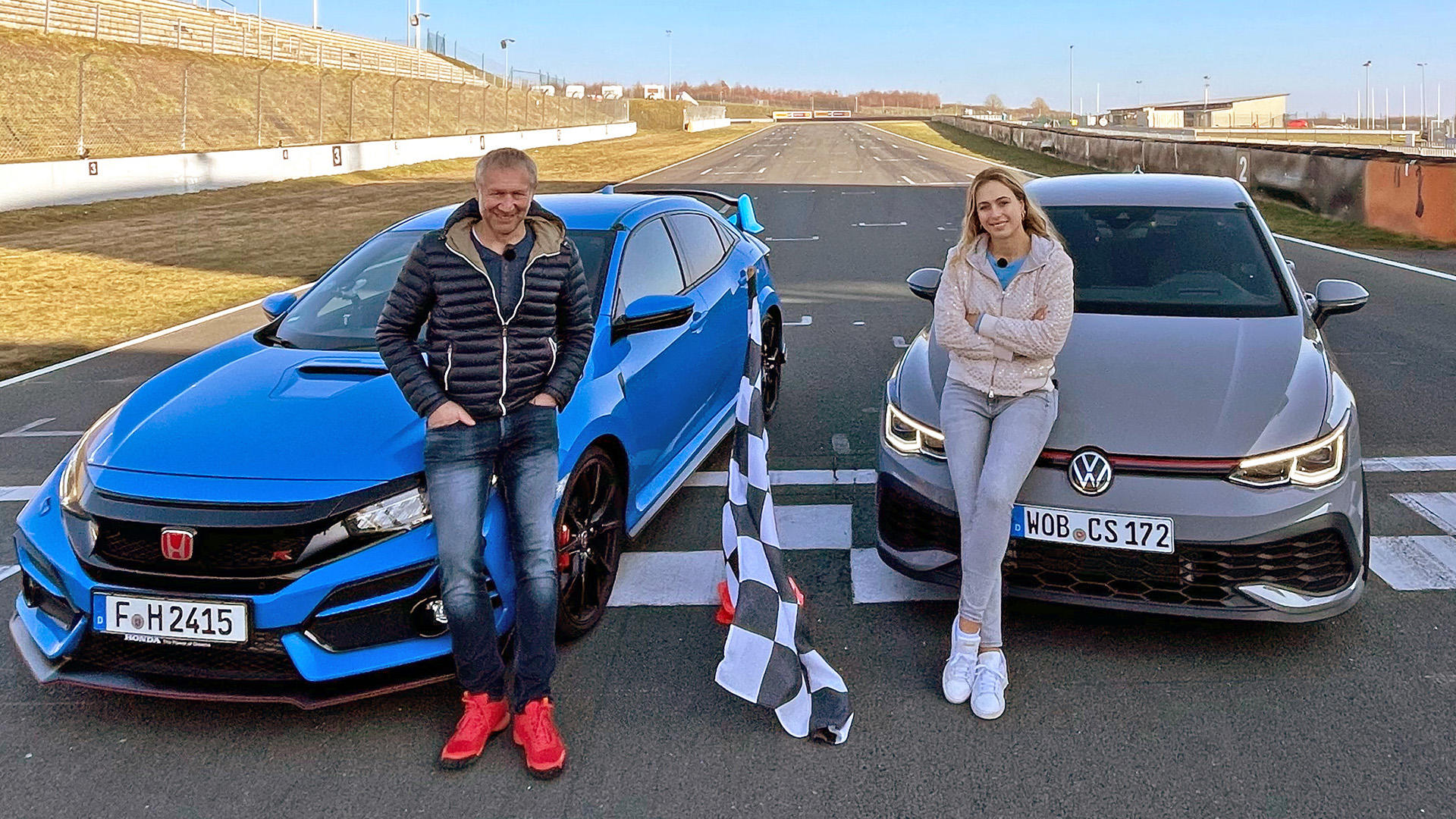 VW Golf GTI Clubsport vs. Honda Civic Type R GT! | Folge 546
