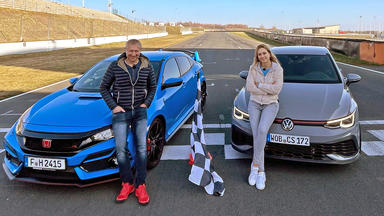 Grip - Das Motormagazin - Vw Golf Gti Clubsport Vs. Honda Civic Type R Gt!